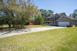 Desirable location at the termination of Barber Rd creates privacy and ample parking!