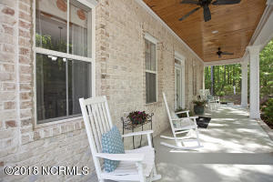 Gorgeous rocking chair front porch