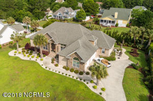 Aerial View of Custom Home - Over 3,000 Square Feet on One Floor