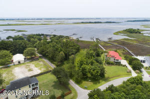 View of Intracoastal & Topsail Island