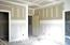 Large master bedroom with attached bath and large walk-in closet