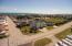 Aerial view to ocean