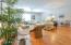 Open Living Area with hardwood floors