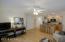 First floor open living space