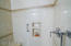 Grab Bar and Seat in Shower