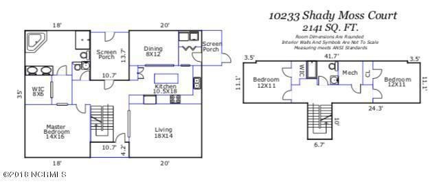 10233 Shady Moss Court Leland, NC 28451