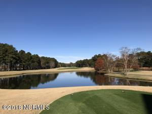 Views of the 18th Fairway and pond from rear porch. This could be your view every morning!