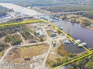 Aerial view property and ICW