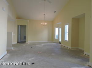 Large Living room-Dining room combo area