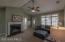 Propane Gas Logs, Vaulted Ceilings, Roomy Living Room