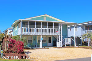 A MUST SEE! Completely Updated Beach House features 2 complete levels with 5 bedrooms & 3 1/2 Baths!