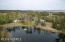 Aerial from back of pond