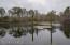 Partial pier (part has sunken under the water line)