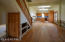 Greatroom/dining/kitchen/stairs