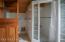 Upstairs bathroom/shower/toilet area