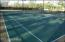 tennis and bocci ball courts