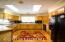 Kitchen with Lovely parquet flooring