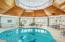 25' circumference pool