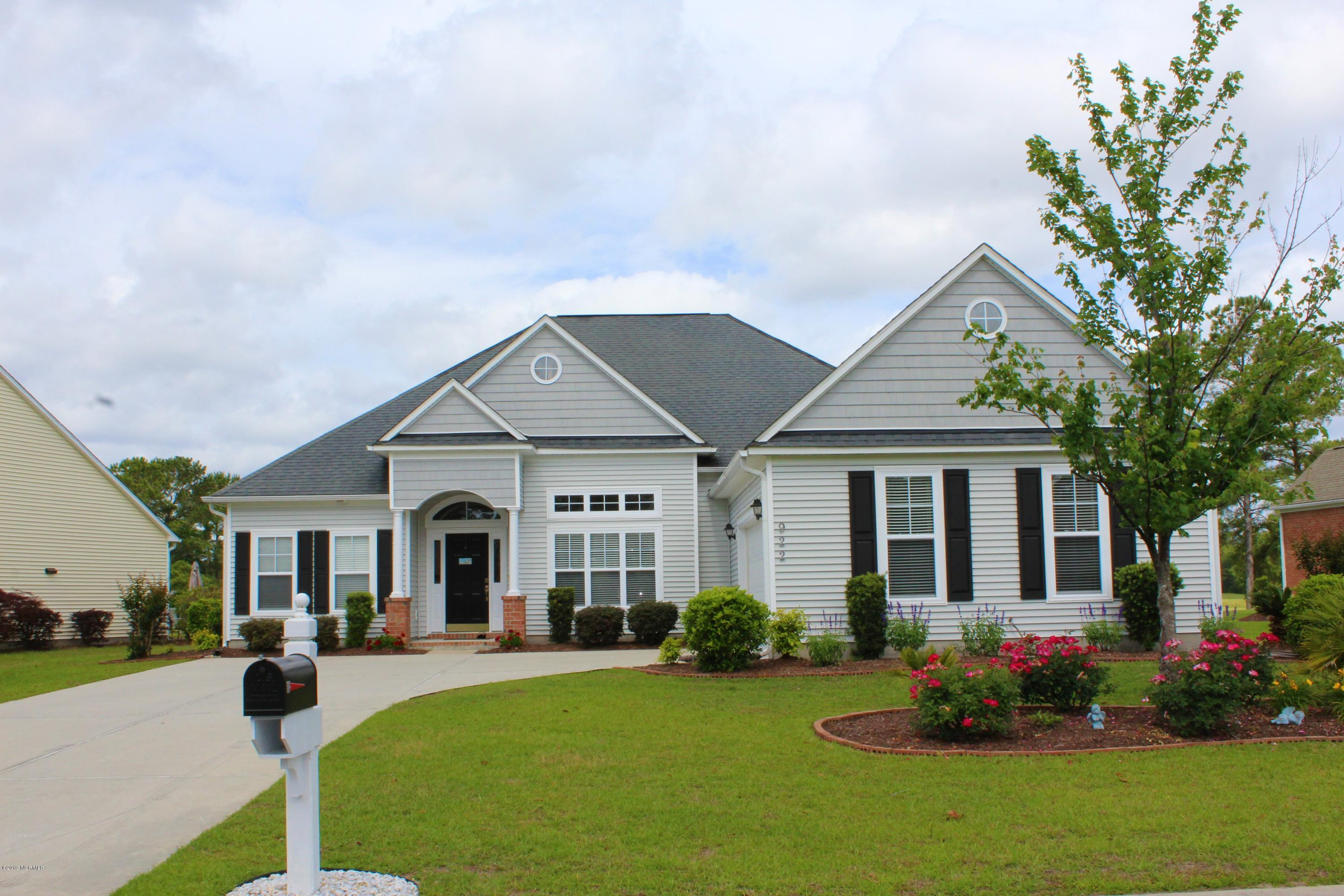 922 Meadowlands Trail Calabash, NC 28467