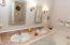 Master Bath with whirlpool tub and separate shower