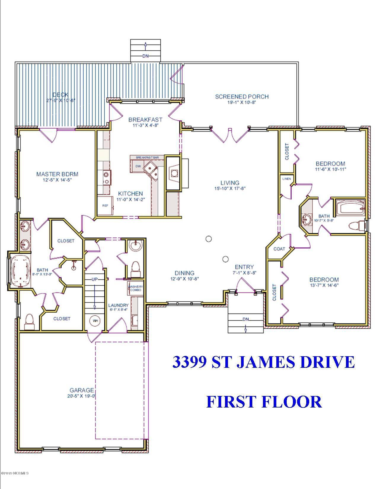 3399 St James Drive Southport, NC 28461
