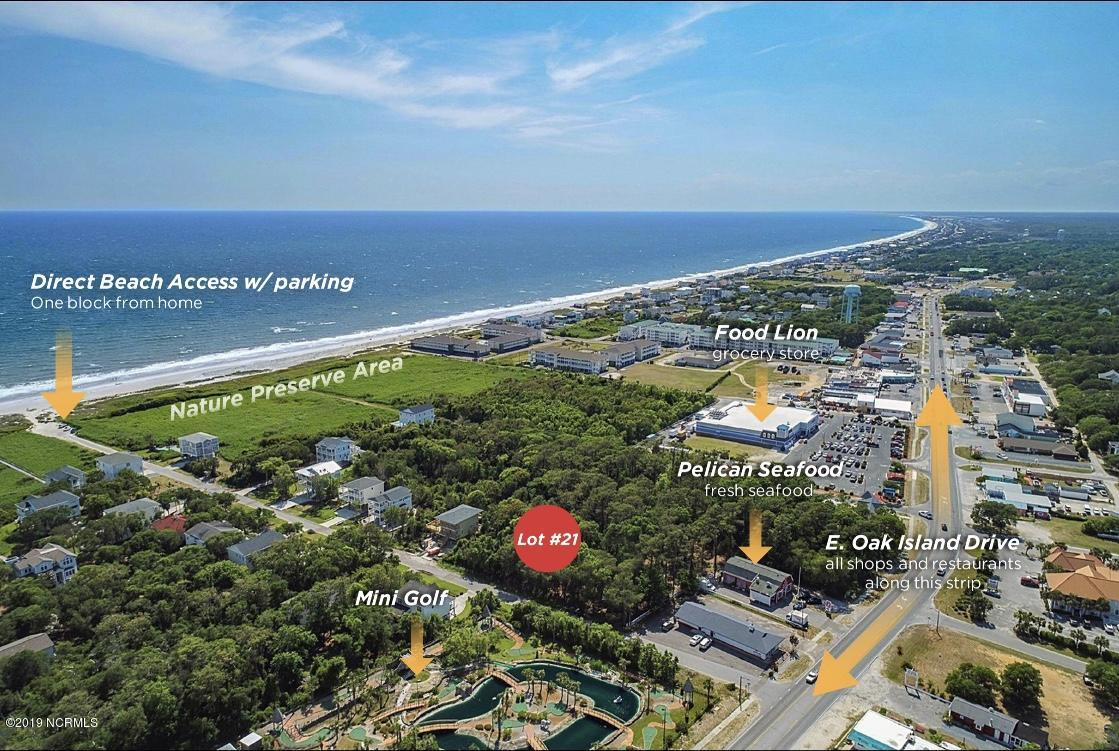 Lot 21 SE 63rd Street Oak Island, NC 28465