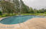 Large in ground swimming pool/Can be heated