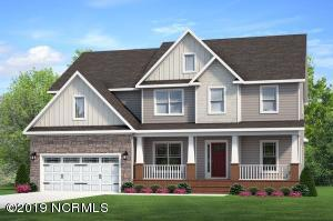Rendering of Sonoma Floor Plan House Front