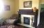Parlor- Fireplace