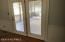 French Doors leading to the screened porch from family room