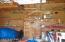 Interior storage bldg