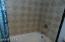 Hall full bath tub/shower