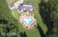 Private oasis with lagoon pool on just under 6 acres!!