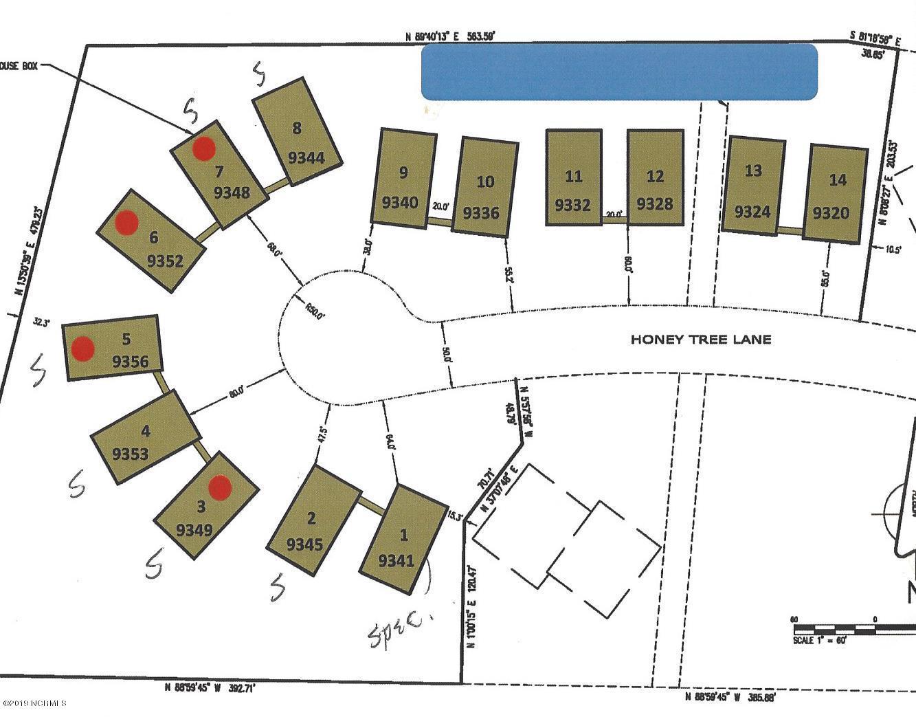 Tbd Honey Tree Lane Calabash, NC 28467