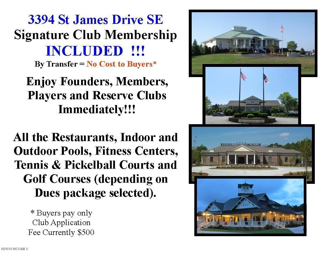 3394 St James Drive Southport, NC 28461