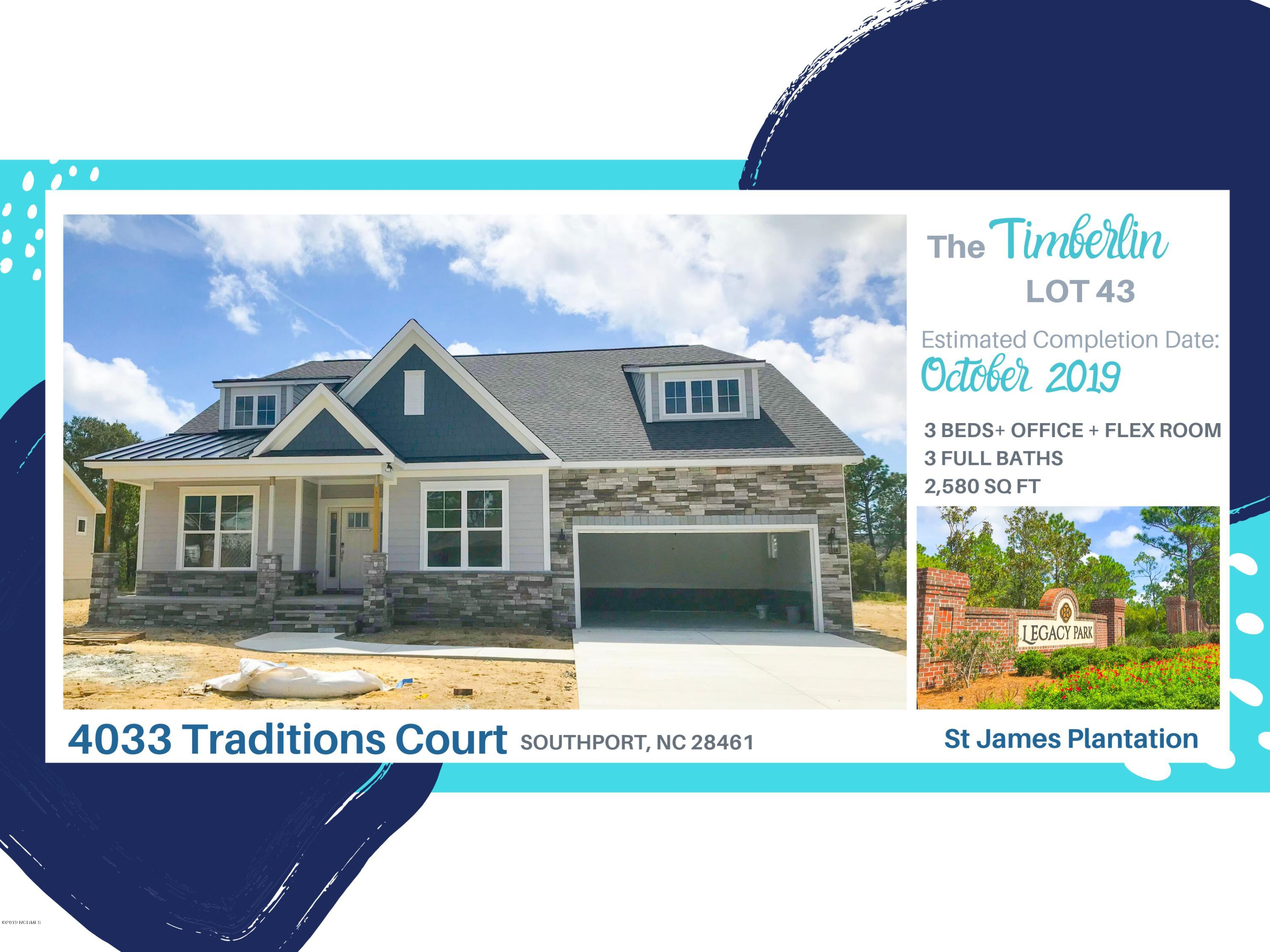 4033 Traditions Court Southport, NC 28461