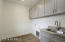 Laundry room with optional cabinetry