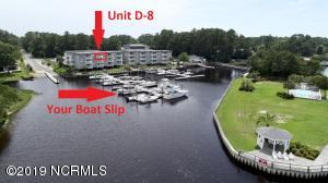 5400 E Yacht Drive, D8, Oak Island, NC 28465