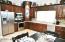Eat In Kitchen with Quartz Countertops