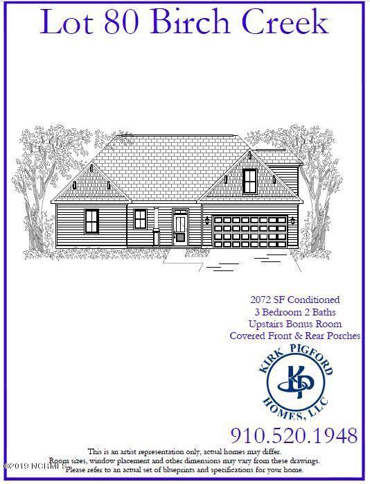 Lot 80 Cottonwood Lane Leland, NC 28451