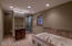 Huge Master Bath with Large Walk-In Shower & Jetted Tub