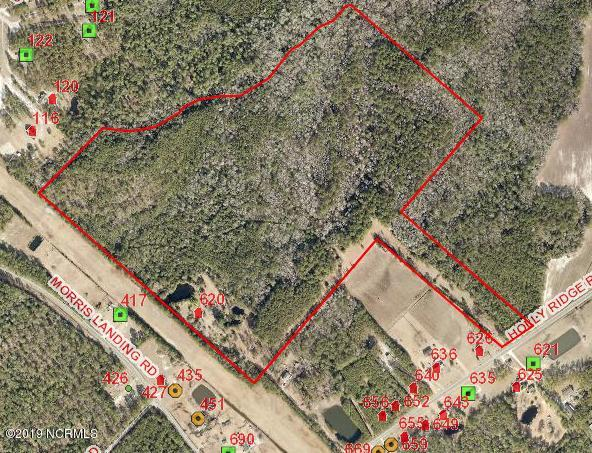 Partially wooded. 80+ acres in prime location for development or private estate.  Public road access.  Buyer to verify topography and wetlands on property. Wetlands evaluation available
