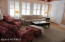 WITH AIR MATTRESS COUCH - SLEEPER SOFA- FLAT SCRN TV CABINET