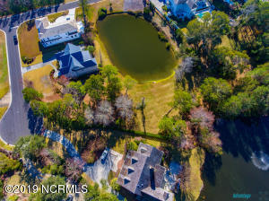 Aerial - Homesite fronting 2 ponds