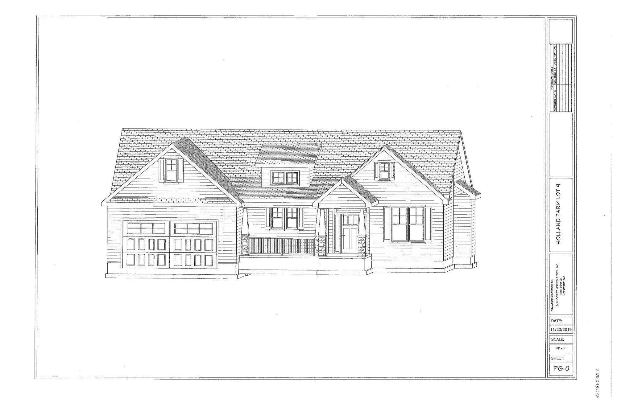 118 Holland Farm Rd., Cedar Point, North Carolina 28584, 3 Bedrooms Bedrooms, ,2 BathroomsBathrooms,Residential,For Sale,Holland Farm Rd.,100199531