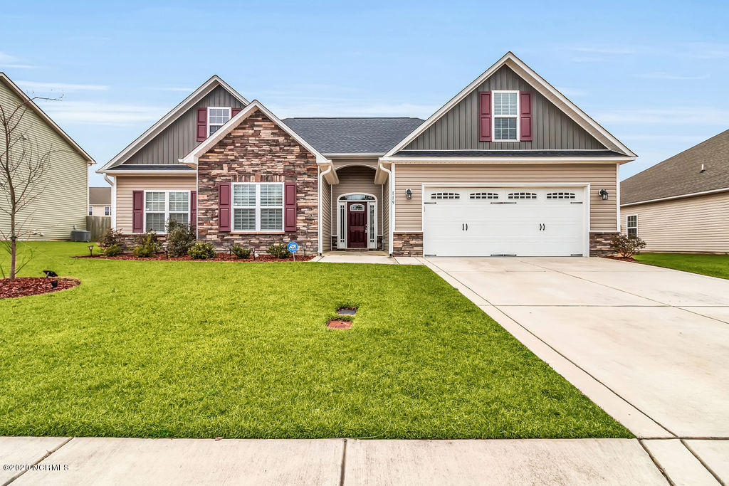 119 Mittams Point Drive, Jacksonville, North Carolina 28546, 4 Bedrooms Bedrooms, ,2 BathroomsBathrooms,Residential,For Sale,Mittams Point,100202603