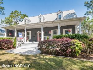 Wonderful CURB APPEAL of Low Country Style with a Large Cool Front Porch