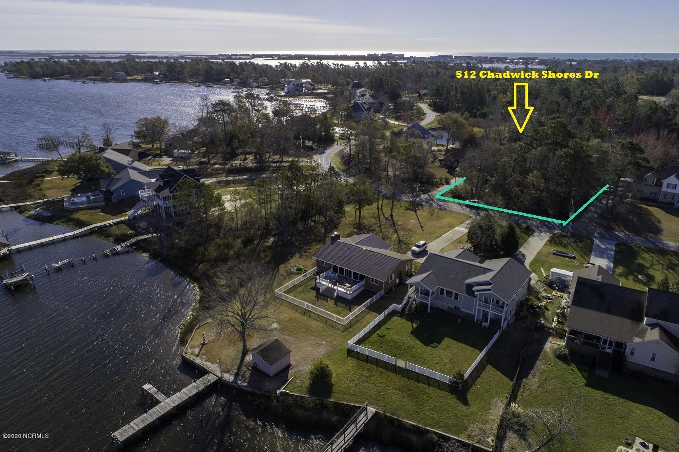 Great building lot in the popular Chadwick Shores Community with possible water views!!  come take a look before it is gone!!Seller has an expired septic permit.