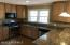 Kitchen- Updated with Granite Counter tops and Stainless Appliances