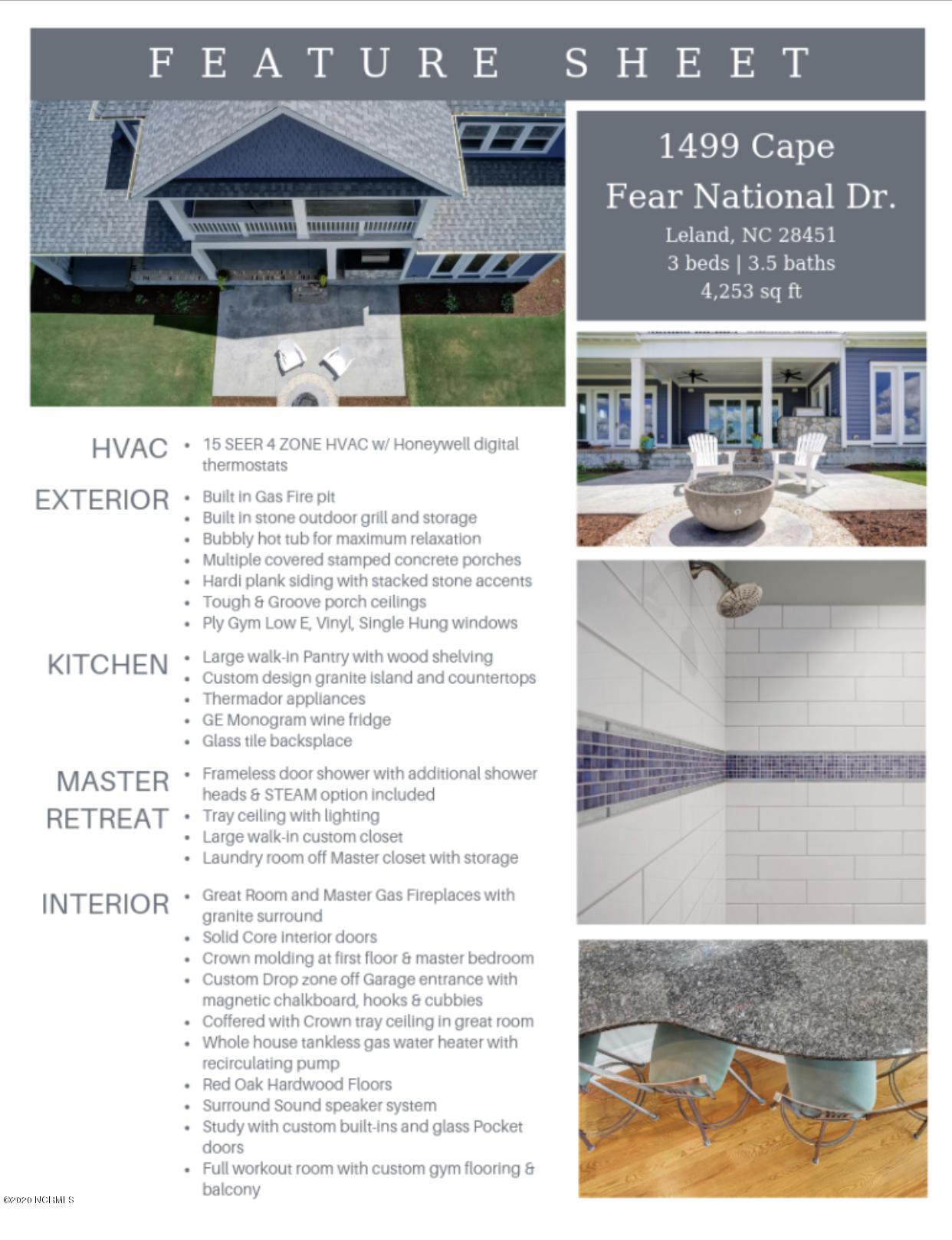 1499 Cape Fear National Drive Leland, NC 28451